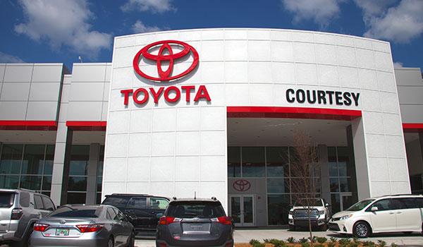 Courtesy Toyota of Brandon, Tampa, FL