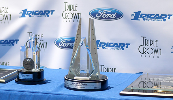 Ricart Automotive wins Ford Triple Crown Award