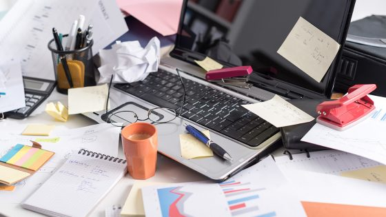 Clean up your desk day