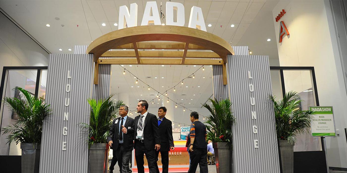 NADA expo Dealer Lounge