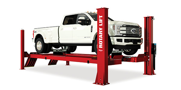 Rotary's new ARO22 Alignment Lift now makes it easier for shops to service a wider range of vehicles.