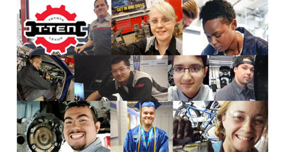 Toyota Motor North America's (TMNA) T-TEN program (Technician Training & Education Network) program