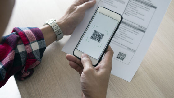 QR code, mobile payment, electronic payments